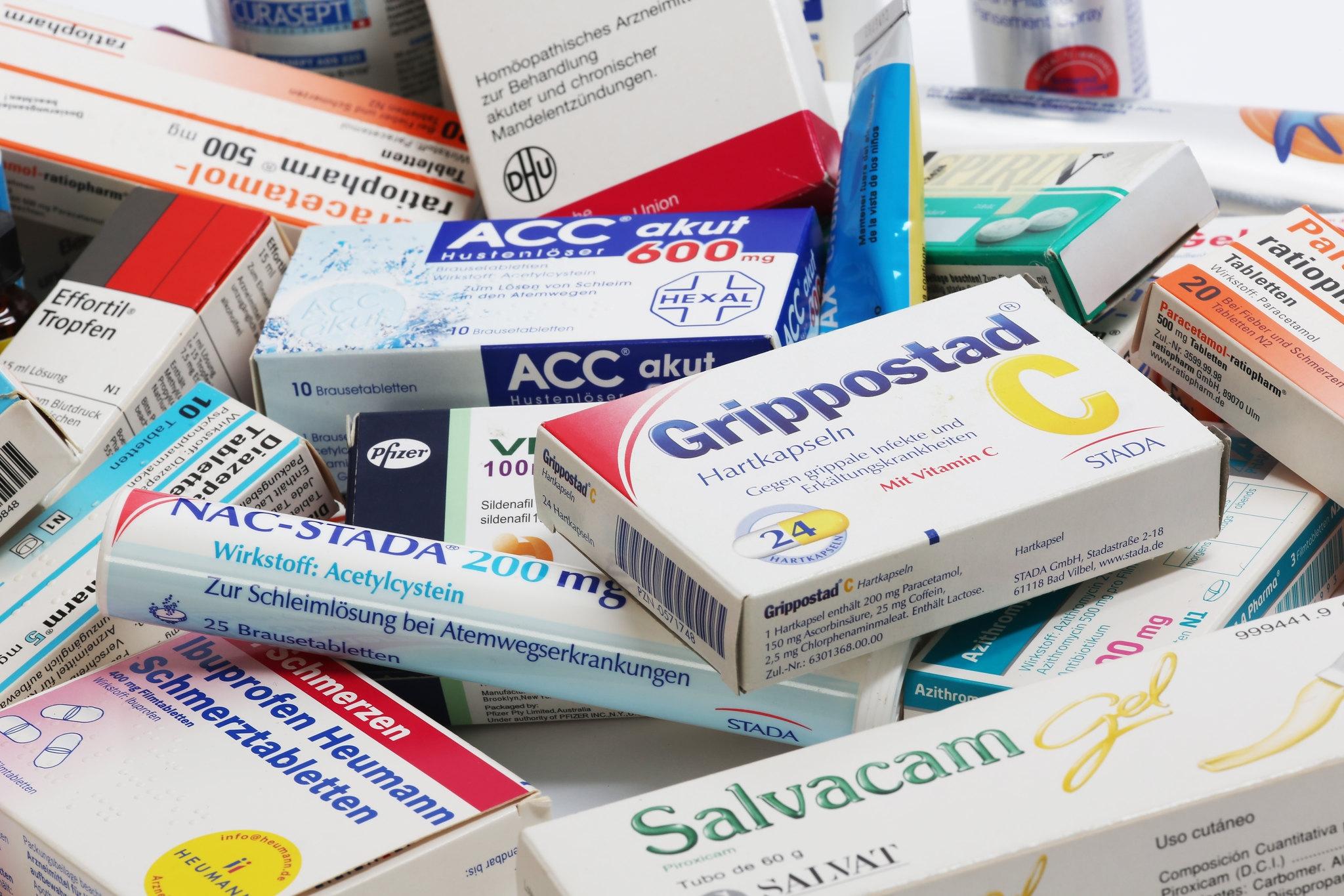 Antibiotika schmerztabletten gleichzeitig